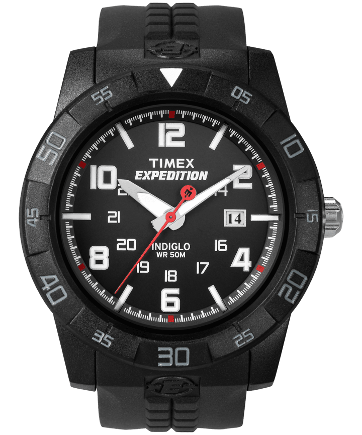 Expedition Rugged Core Analog 43mm Resin Strap Watch  large