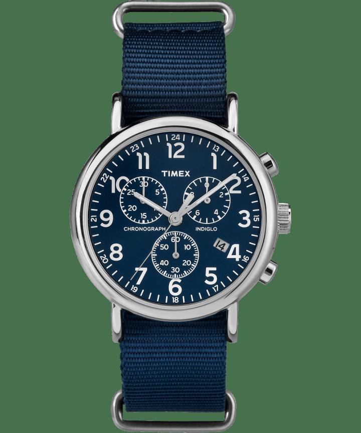 Weekender Chrono 40mm Nylon Strap Watch  large