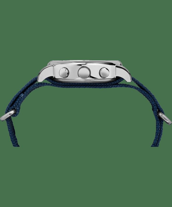 Weekender™ Chrono Oversize Silver-Tone/Blue large
