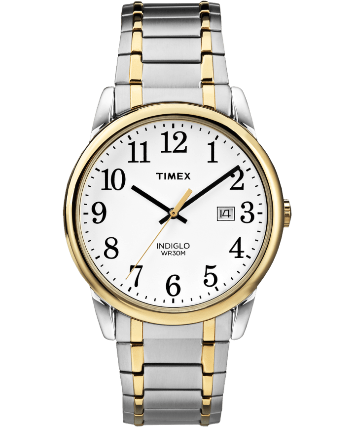 Easy Reader 38mm with Date Stainless Steel Watch Expansion Band  large