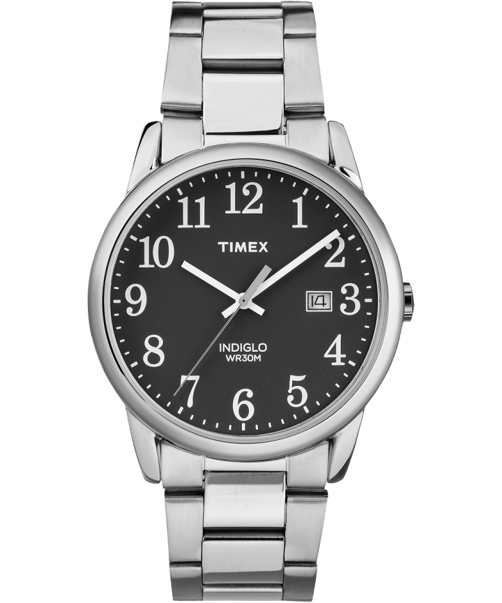 Easy Reader 38mm Stainless Steel Watch with Date  large