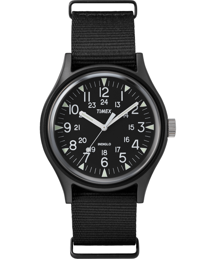 MK1 Aluminum 40mm Nylon Strap Watch  large