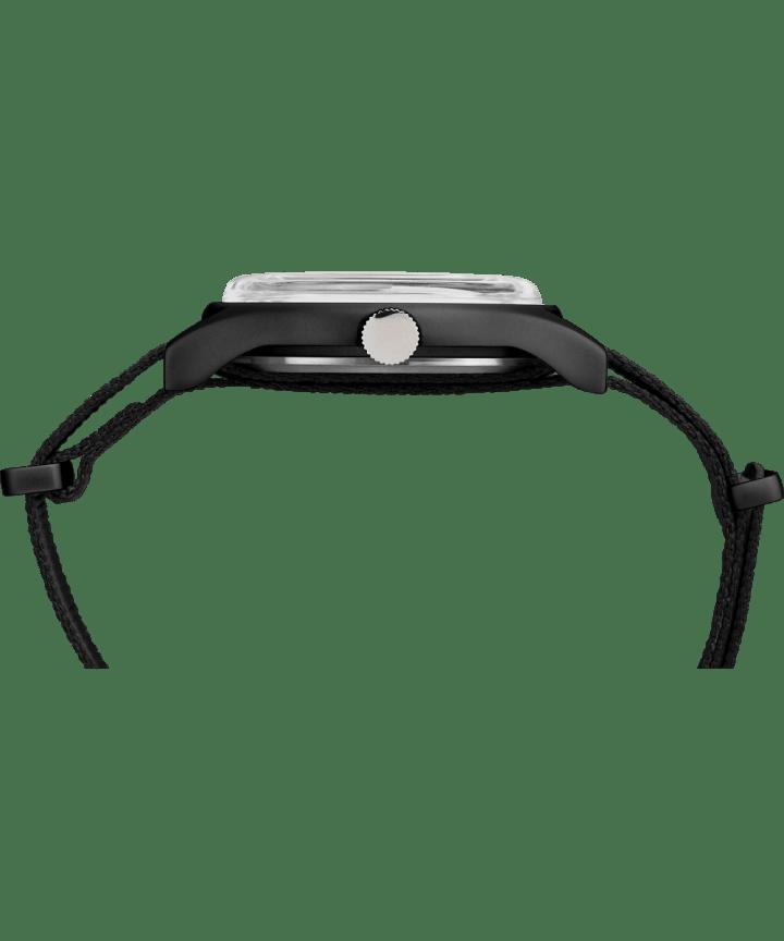 MK1 Aluminum 40mm Fabric Watch Black large