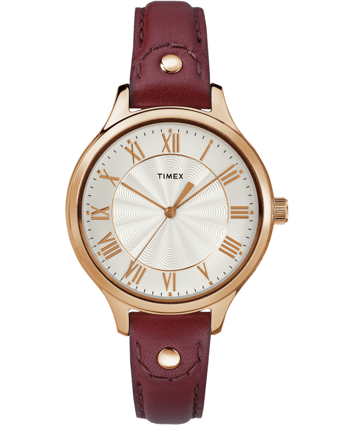 Peyton 36mm Leather Watch with Grommet  large