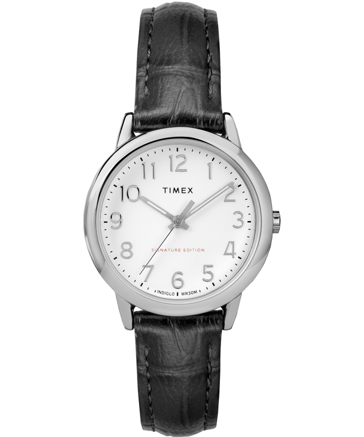 Easy Reader Signature 30mm Leather Watch  large