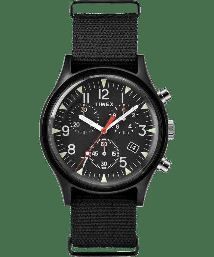 MK1 Chronographe aluminium 40mm, grande, bracelet en nylon