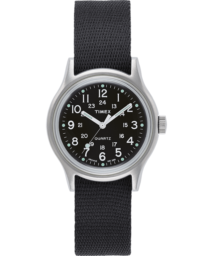 MK1 Military 36mm Grosgrain Strap Watch  large