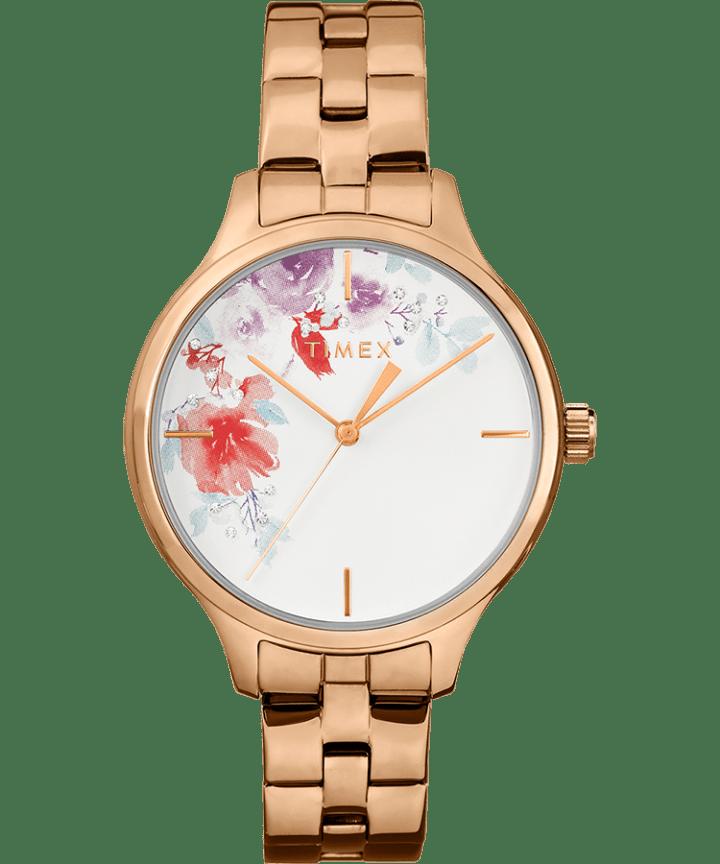 Crystal Bloom 36mm Rose-Gold Bracelet  large