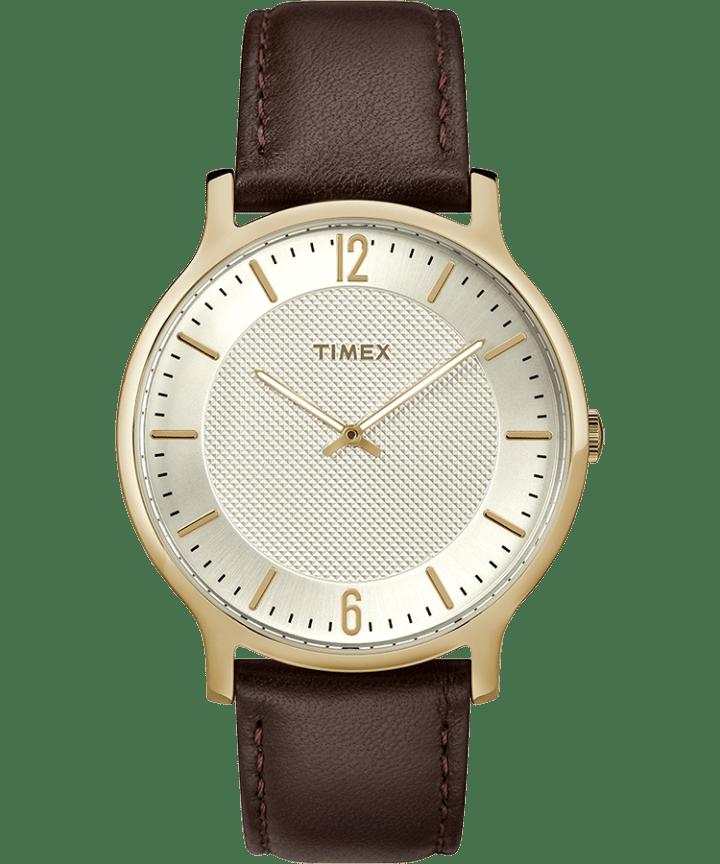 Metropolitan Mens 40mm Leather Watch  large