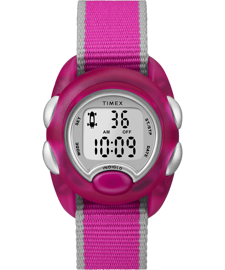 Youth Digital 34mm Fabric Strap Watch  large