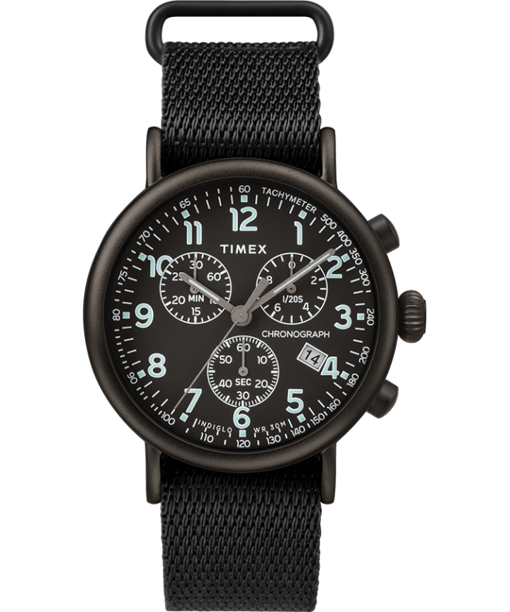 Standard Chronograph 41mm Fabric Strap Watch  large