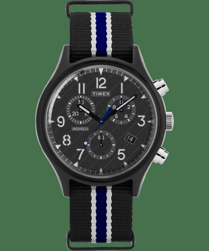 MK1 Supernova Chronograph 42mm Fabric Strap Watch  large