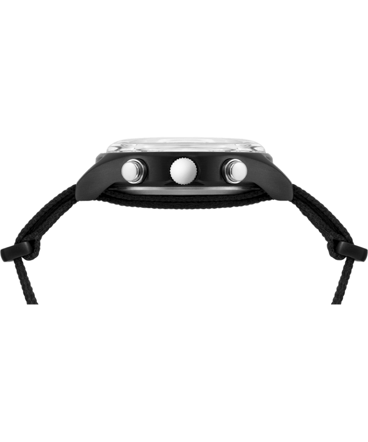 MK1 Supernova™ Chronograph 42mm Fabric Strap Watch Black large