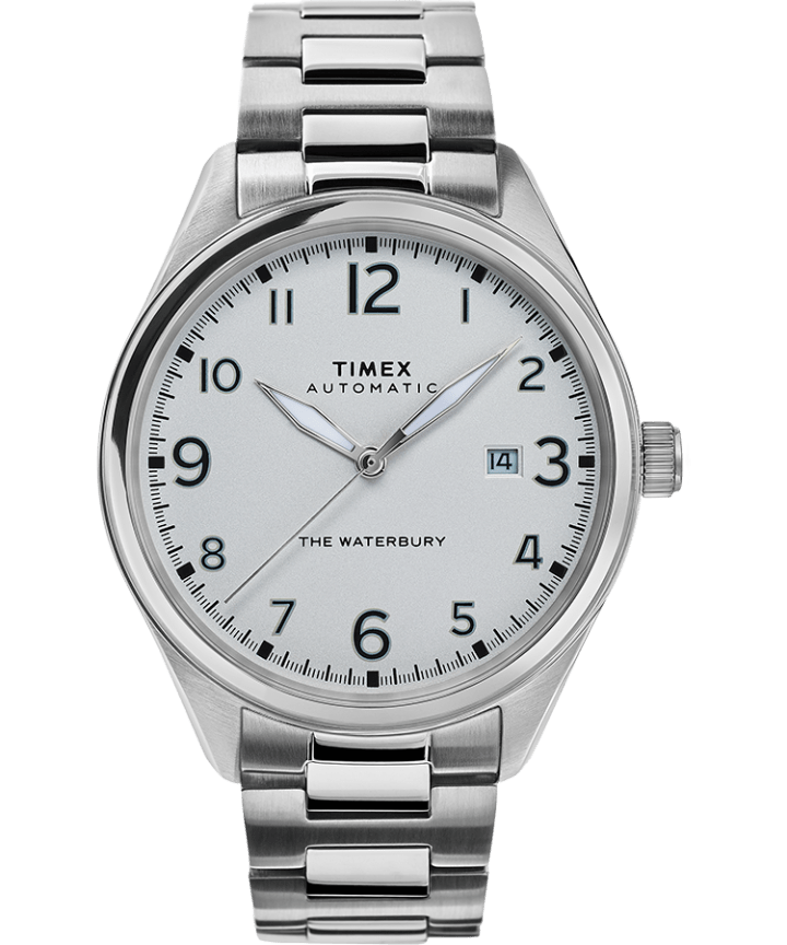 Waterbury Traditional Automatic 42mm Stainless Steel Bracelet Watch  large