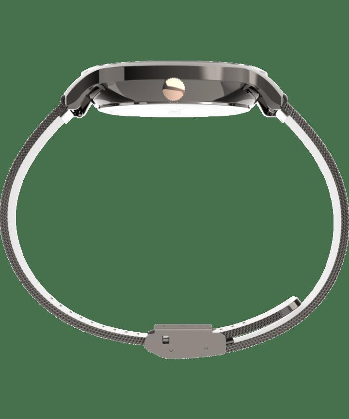 Transcend™ Multifunction 38mm Stainless Steel Mesh Band Watch Gunmetal/Black large