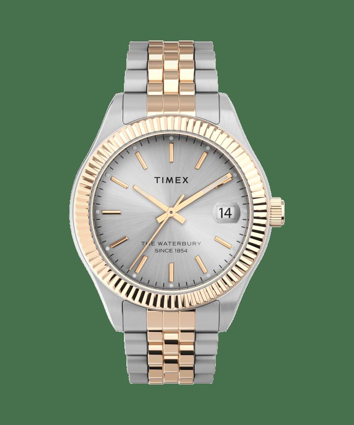 Waterbury Legacy 34mm Stainless Steel Bracelet Watch  large