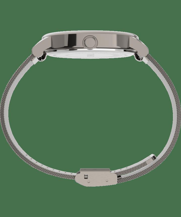 Originals 38mm Stainless Steel Mesh Band Watch Gunmetal/Titanium/Gray large