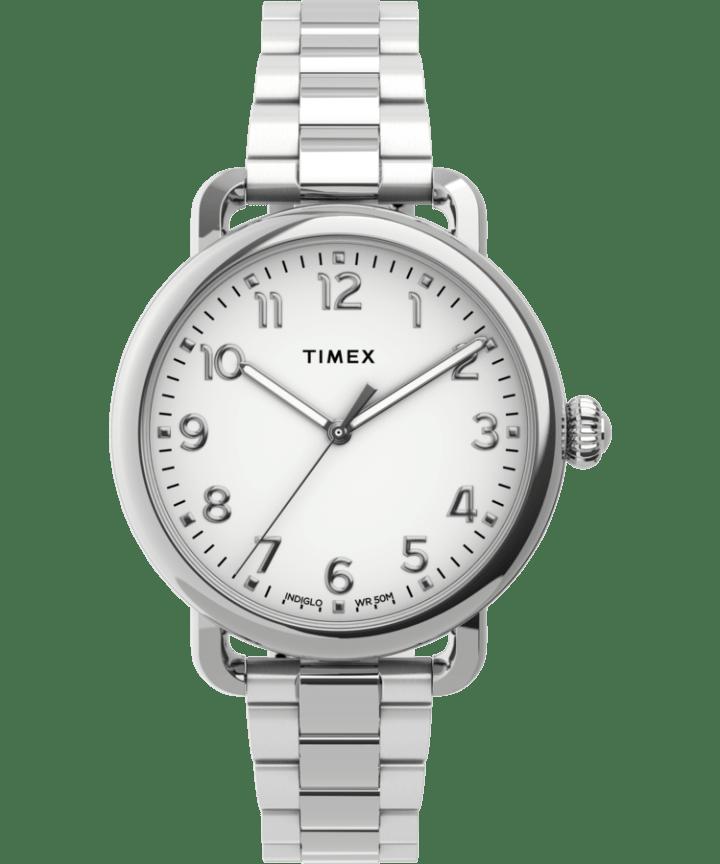 Standard 34mm Stainless Steel Bracelet Watch  large