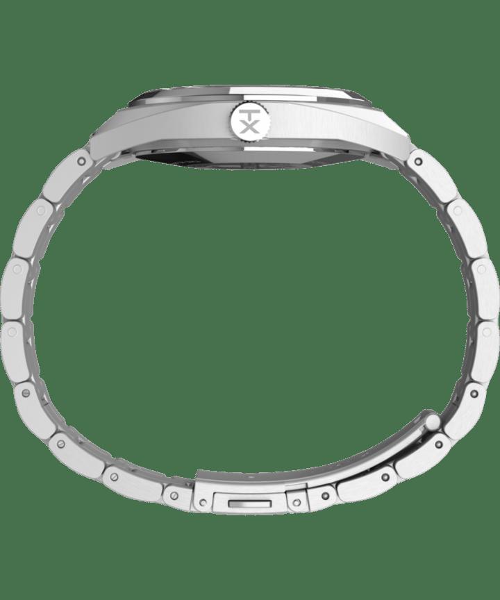 Montre Milano XL 38mm Bracelet en acier inoxydable Acier inoxydable/Argenté large