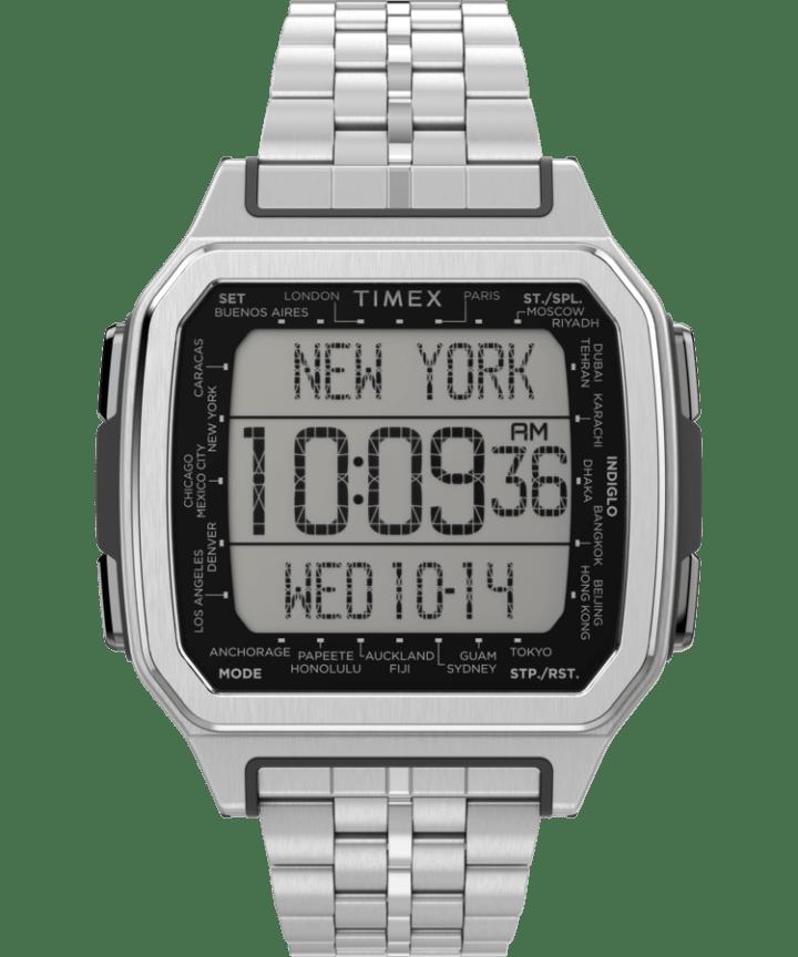 Command Urban Metal 47mm Stainless Steel Bracelet Watch  large