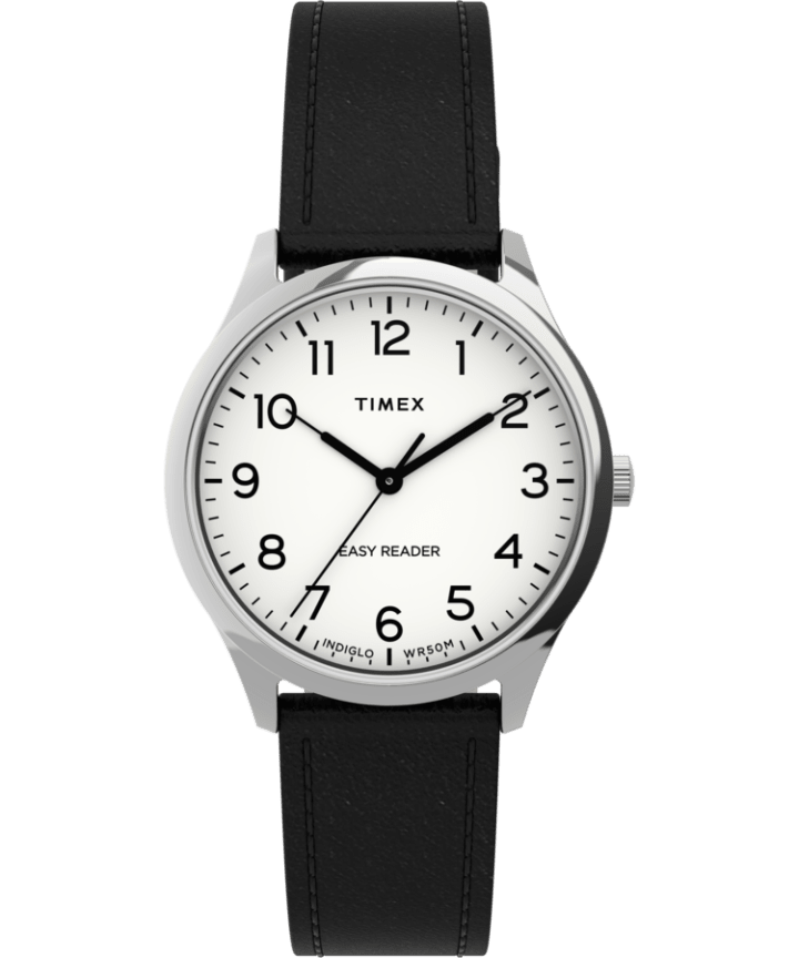 Easy Reader Gen1 32mm Leather Strap Watch  large