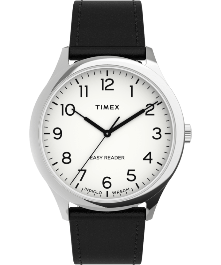Easy Reader Gen1 40mm Leather Strap Watch  large