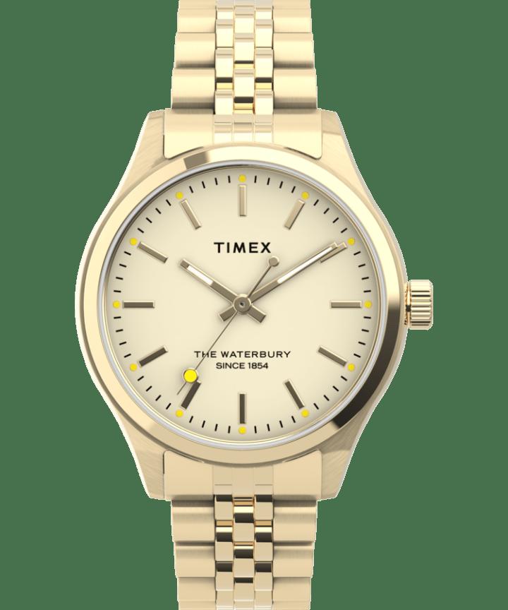 Waterbury Neon 34mm Stainless Steel Bracelet Watch  large