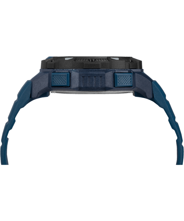 Expedition Base Shock 45mm Resin Strap Watch Blue/Black large
