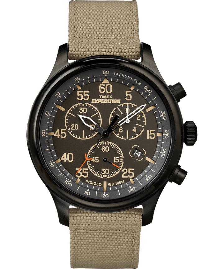 Expedition Field Chronograph 43mm Fabric Watch  large