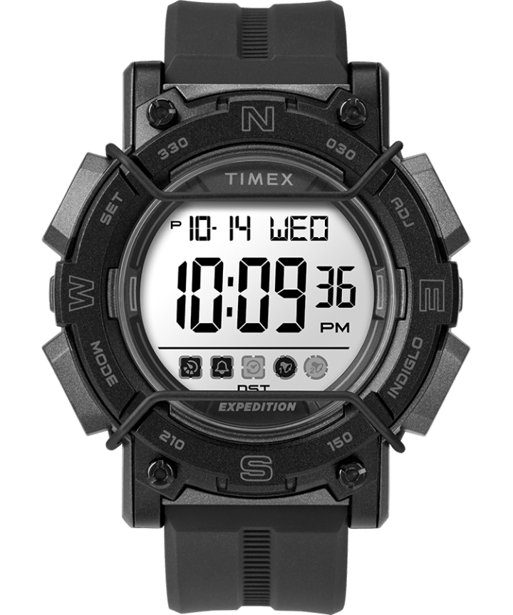 Expedition Digital 47mm Resin Strap Watch  large