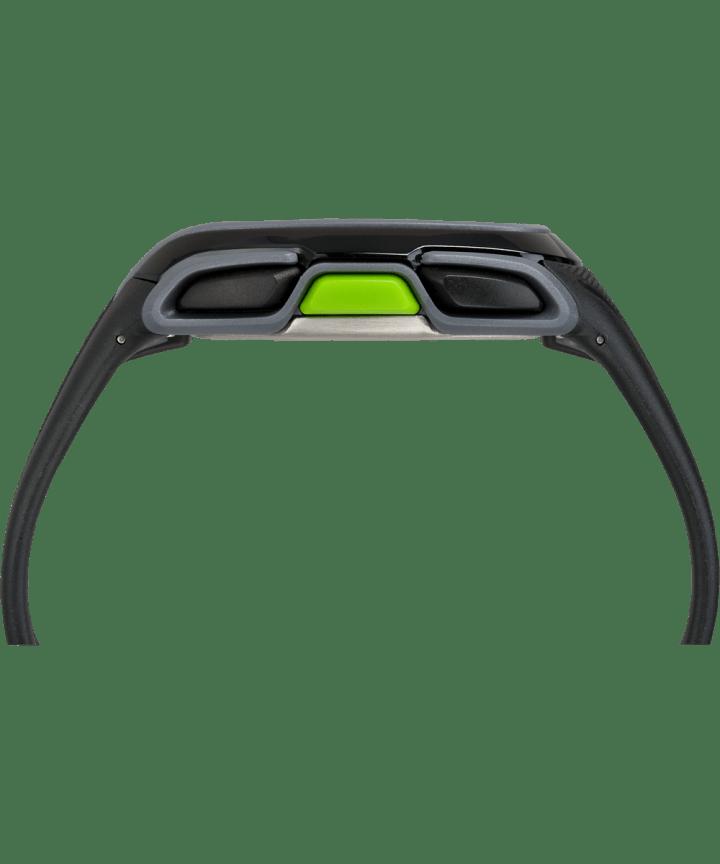 IRONMAN Sleek 150 Resin Strap Watch Black/Green large