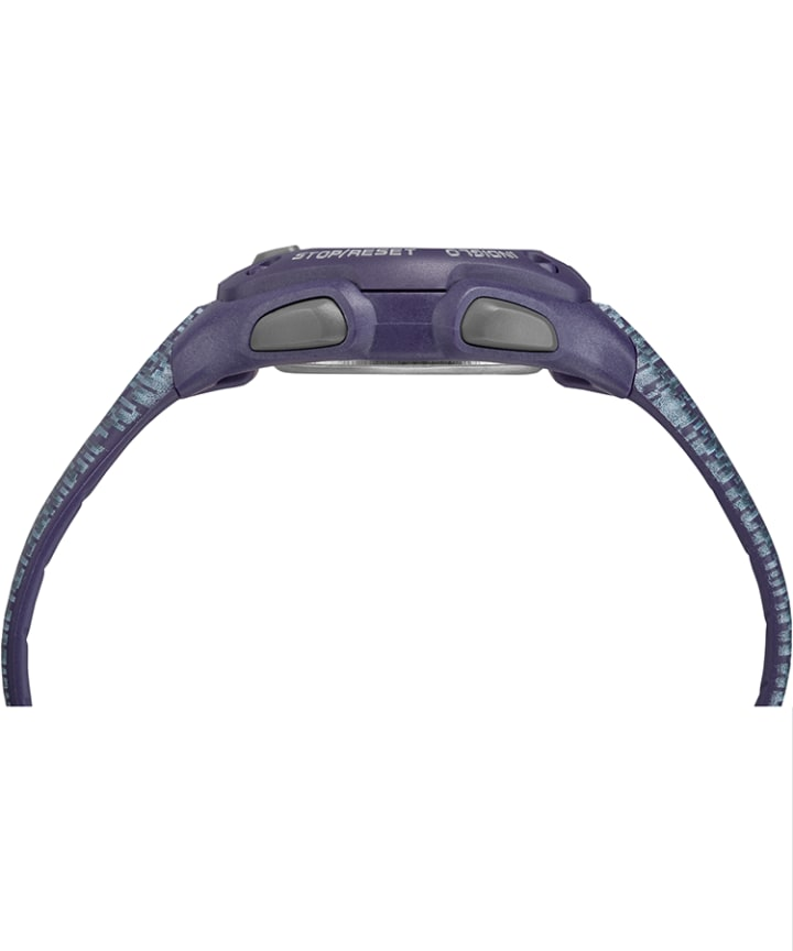 IRONMAN Classic 30 Mid-Size Resin Strap Watch Purple/Gray large
