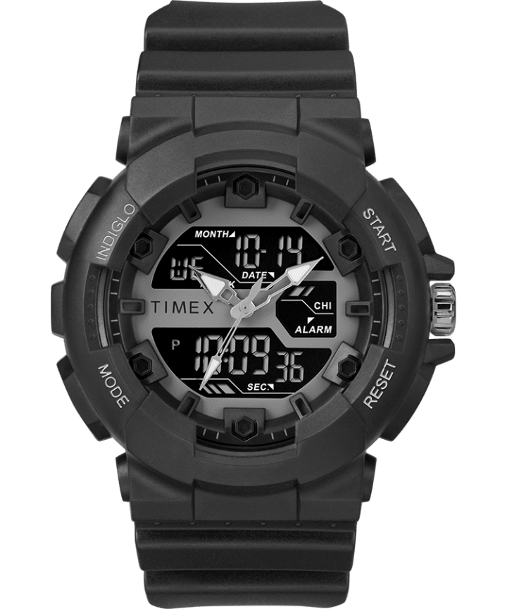 The HQ DGTL 50MM Resin Strap Combo Watch  large