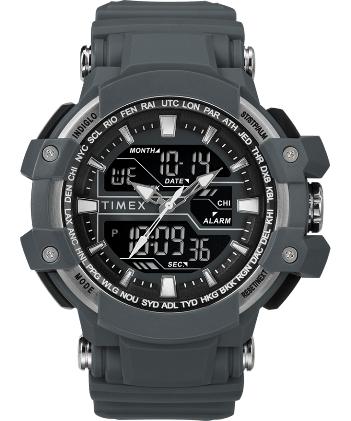 Tactic DGTL 50MM Resin Strap Combo Watch  large
