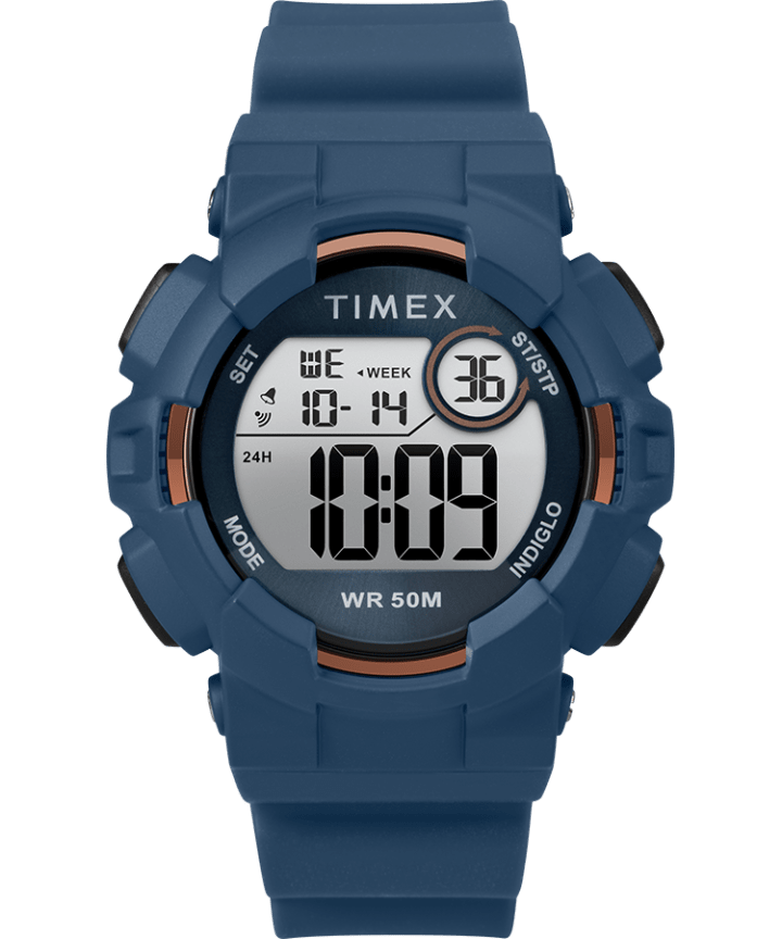 Mako DGTL 44MM Resin Strap Digital Watch  large