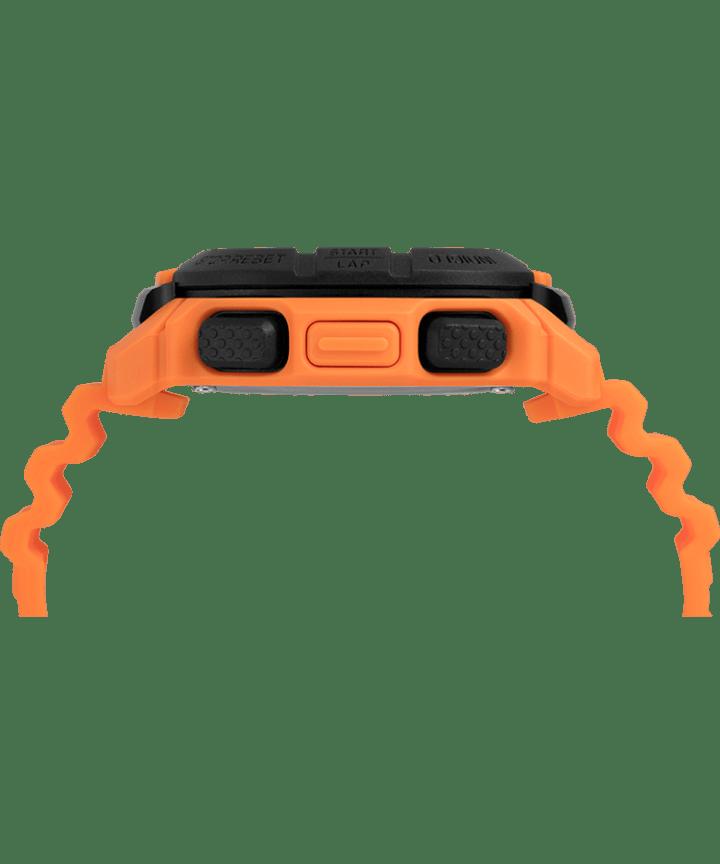 Timex Command™ 47mm Silicone Strap Watch Orange/Black large