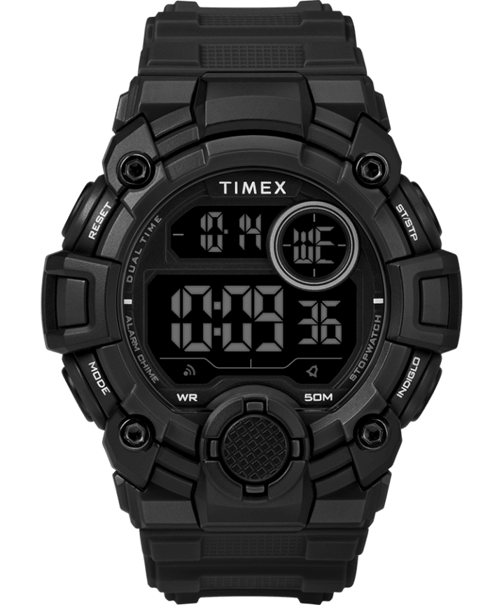 A Game DGTL 50mm Silicone Strap Digital Watch  large