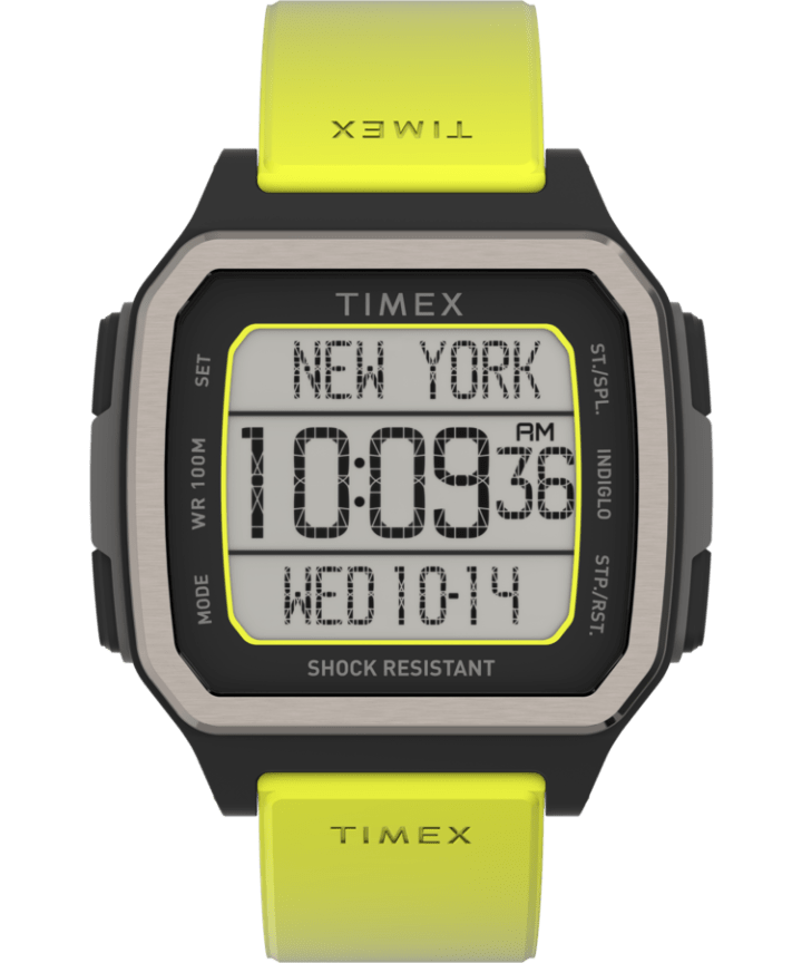 Command Urban 47mm Resin Strap Watch  large