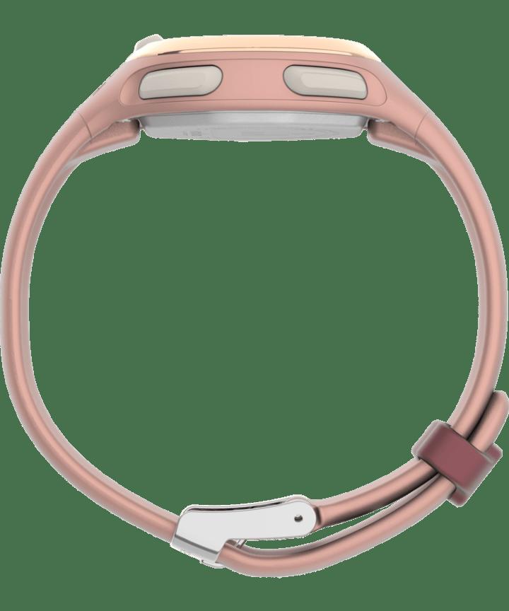 Transit 33mm Resin Strap Watch Pink/Rose-Gold-Tone large