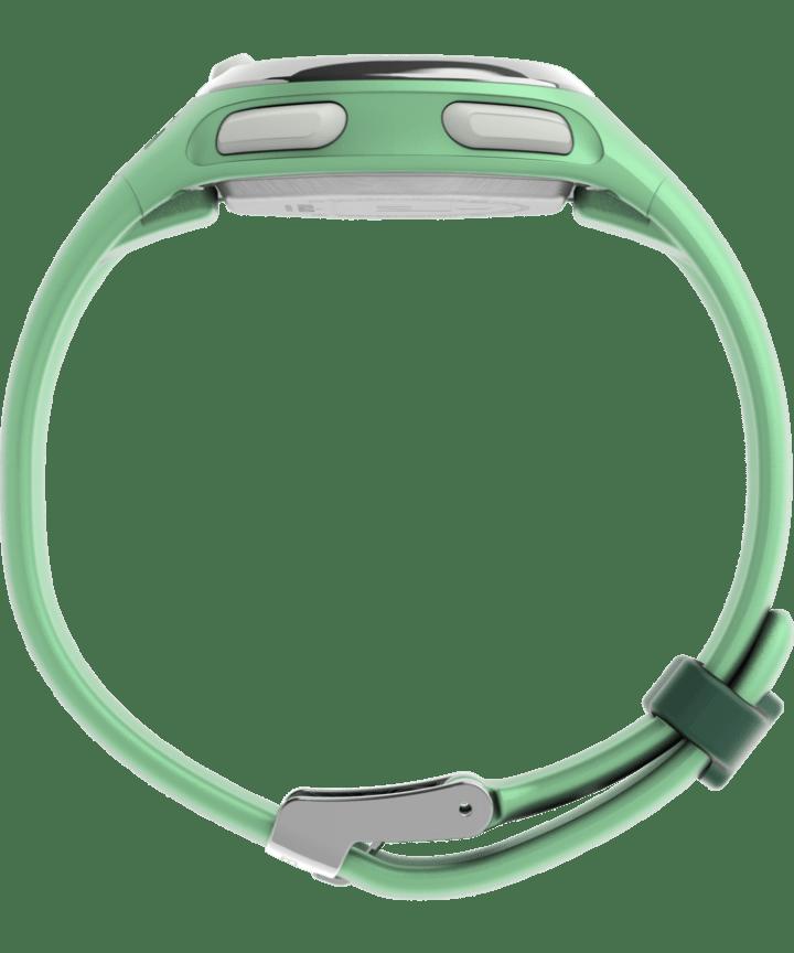 Transit 33mm Resin Strap Watch Mint/Rose-Gold-Tone large