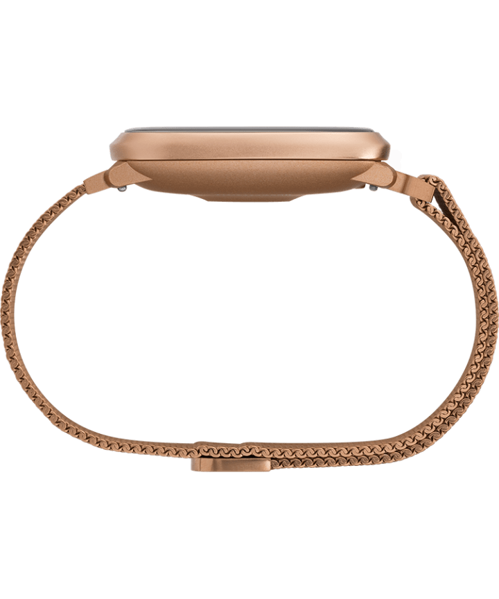 iConnect® by Timex Premium Active 36mm Mesh Bracelet Smartwatch Rose-Gold-Tone large