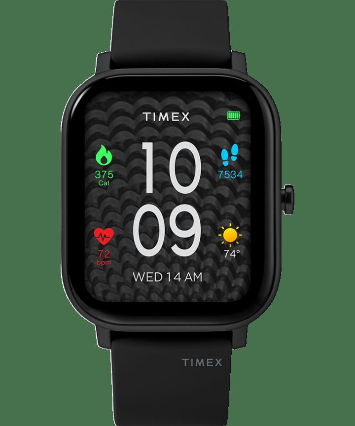 Timex Metropolitan S 36mm Silicone Strap Watch  large