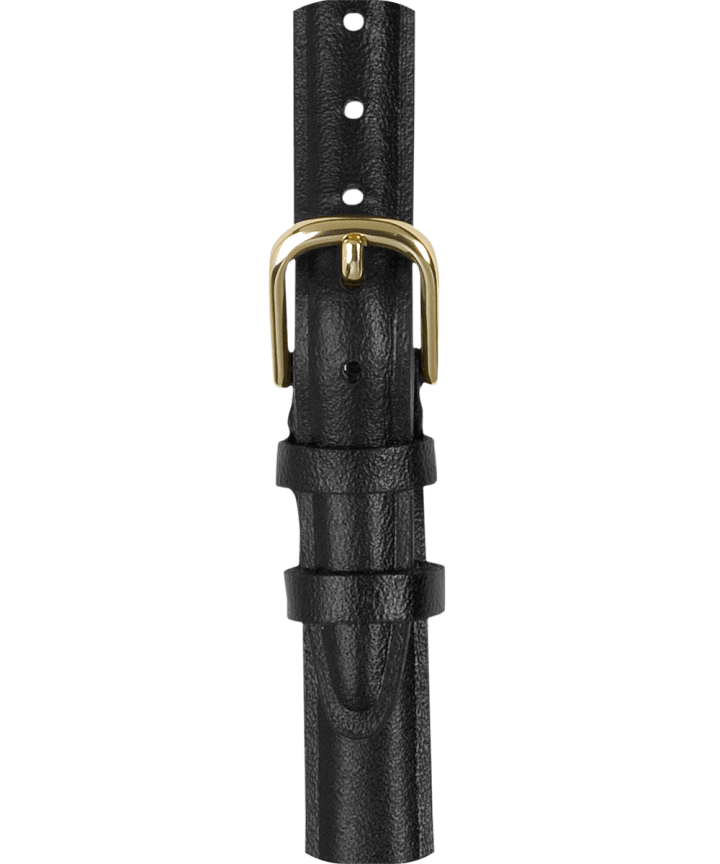 12mm Leather with Gold Strap  large