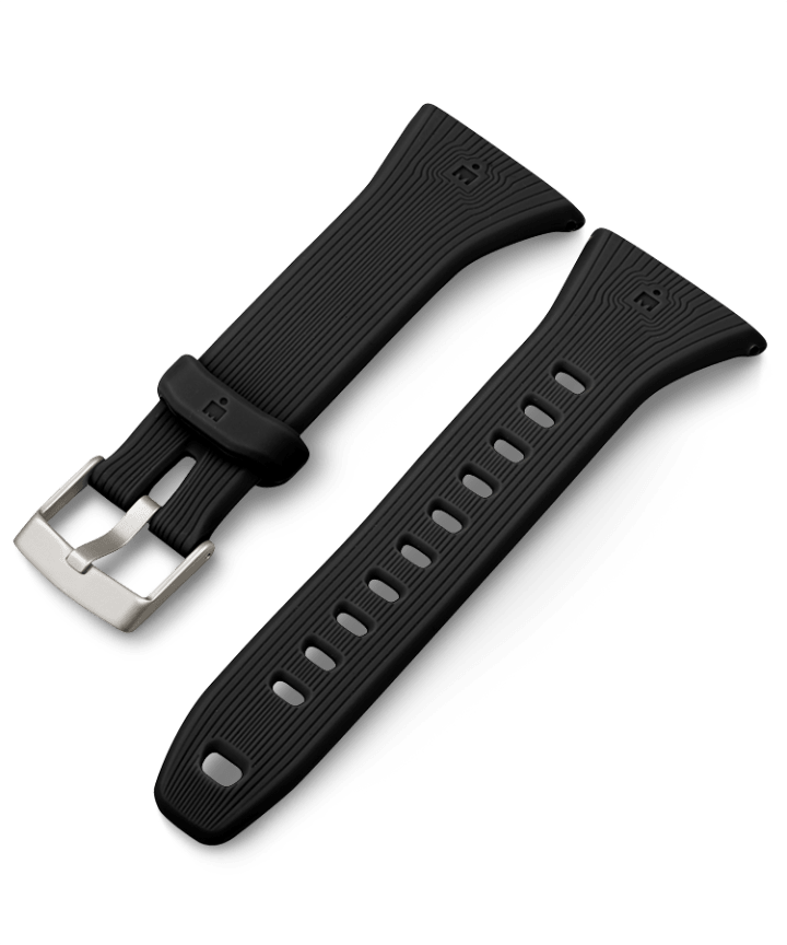 21mm Quick Release Silicone Strap Black large