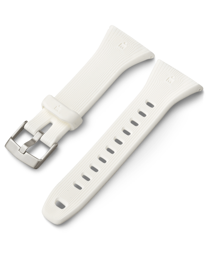 21mm Quick Release Silicone Strap White large