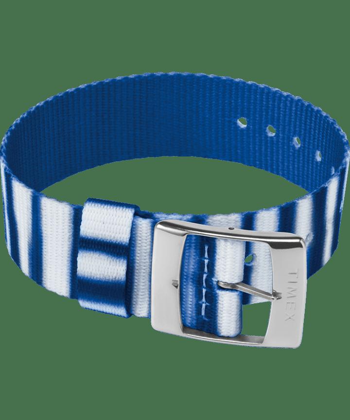 20mm Fabric Single Layer Slip Thru Strap with Tie Dye Pattern  large