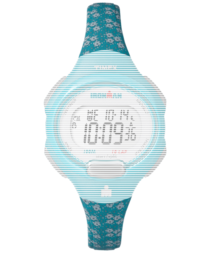 Replacement 12mm Resin Strap for Ironman® Essential 10 Mid-Size Blue large
