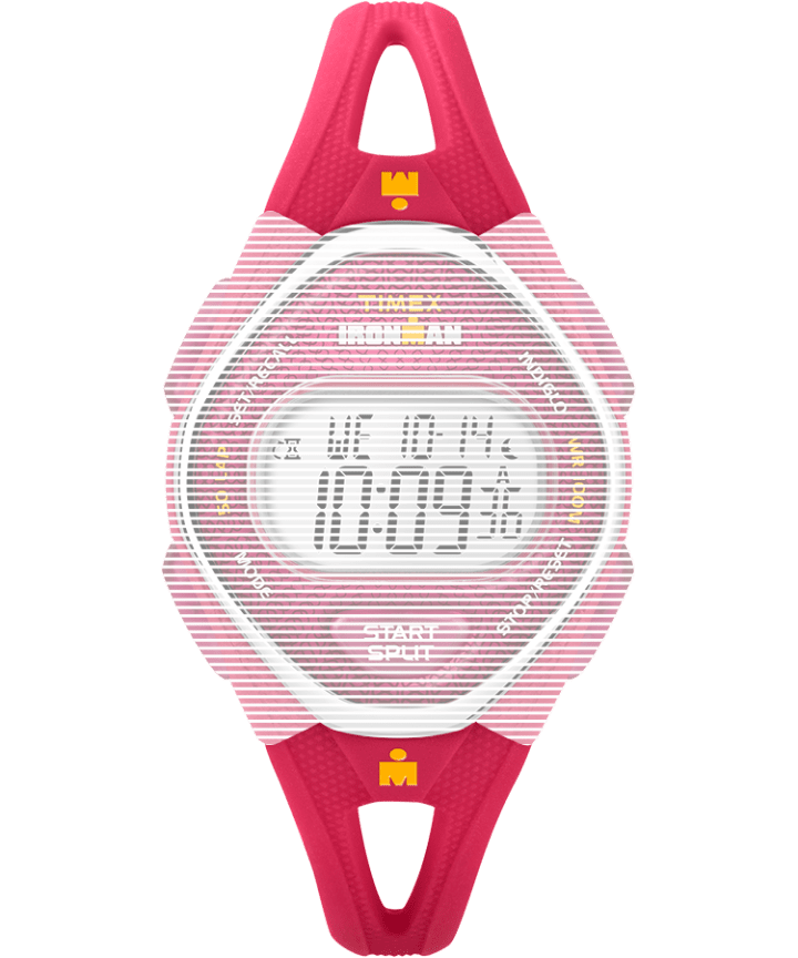 Replacement 14mm Silicone Strap for Ironman® Sleek 50 Mid-Size Pink large