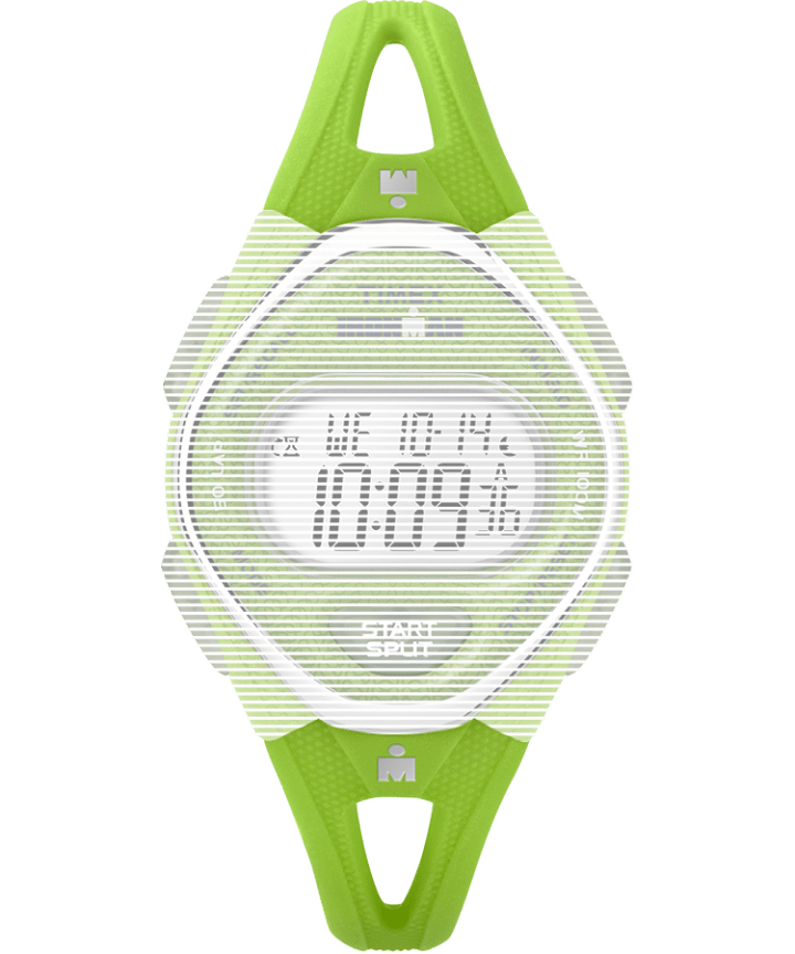 Replacement 14mm Silicone Strap for Ironman® Sleek 50 Mid-Size Green large