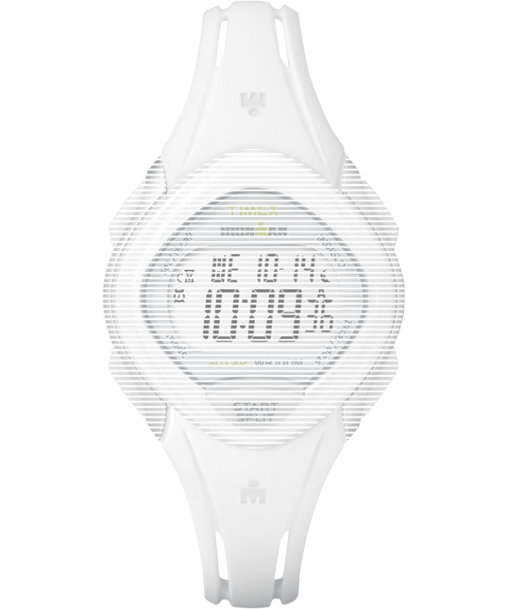 Replacement 16mm Resin Strap for Ironman® Sleek 30 Mid Size White large